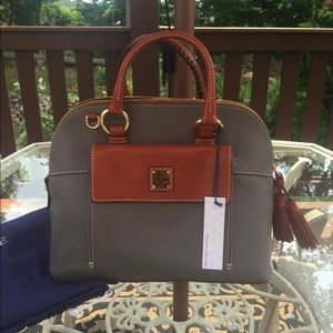 Dooney and bourke Aubrey satchel